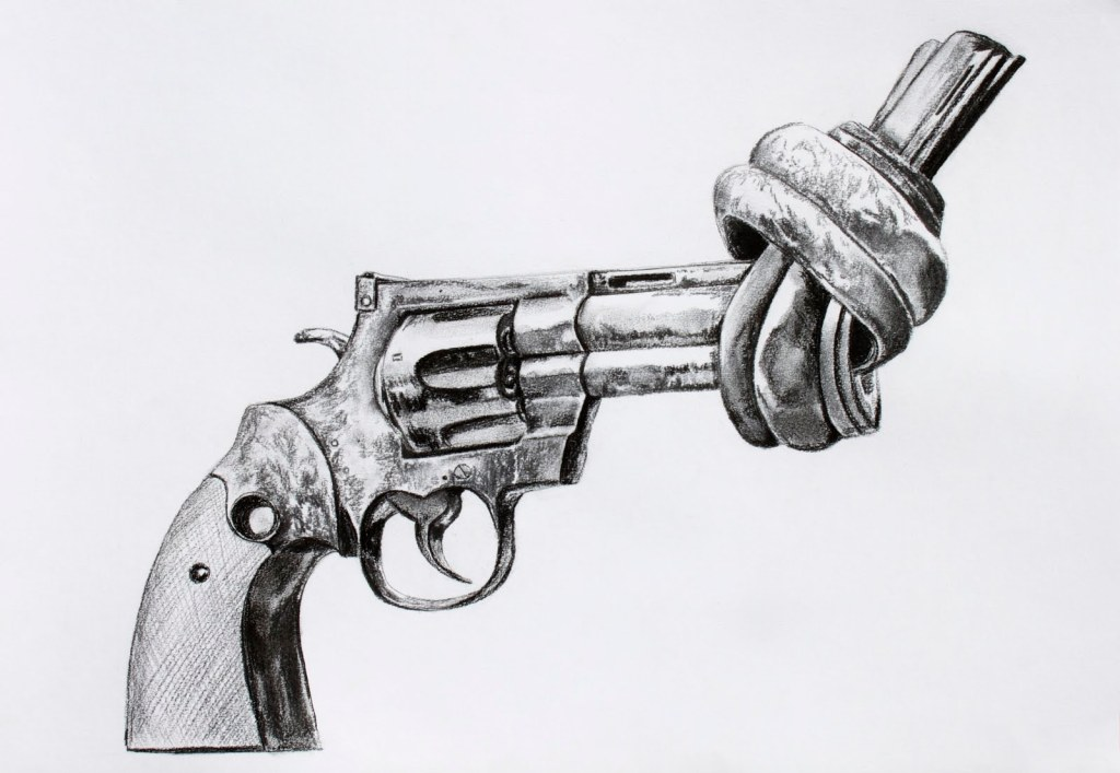 knotted gun