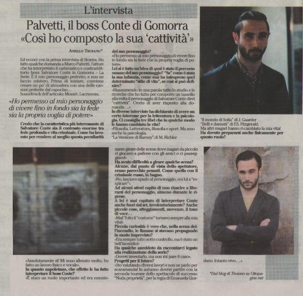 intervista Palvetti cartaceo TUTTA