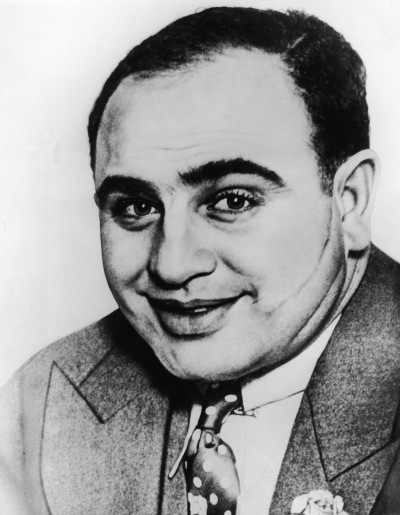 Portrait Of Al 'Scarface' Capone