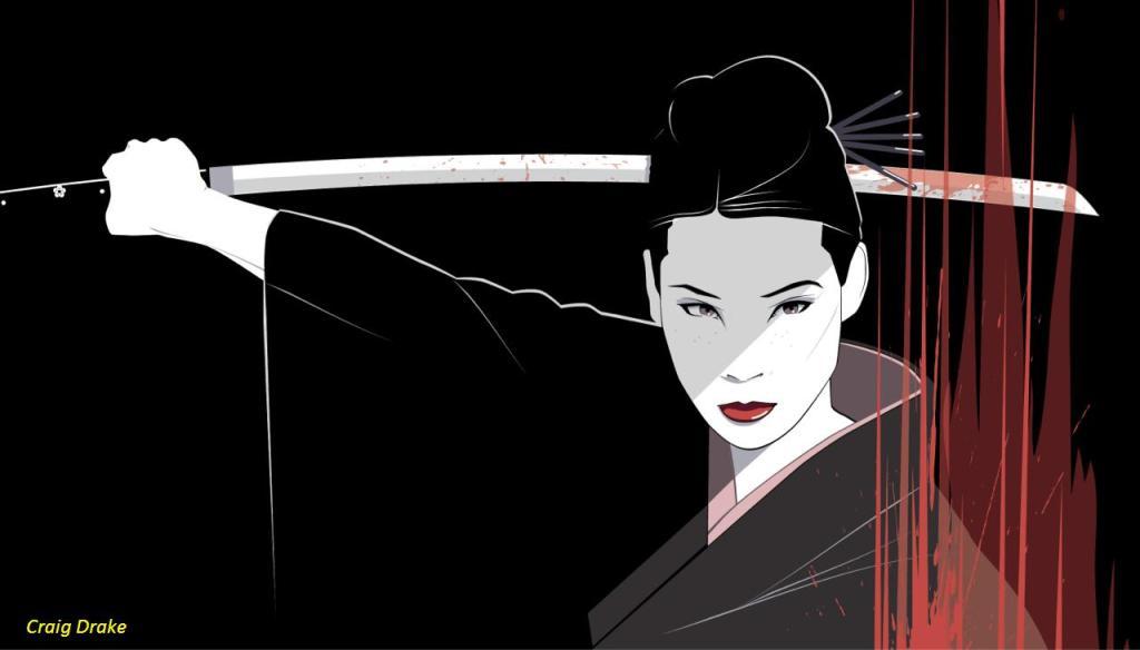 Kill Bill - O-Ren Ishii by Craig Drake