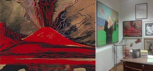 Vesuvius - Andy Wharol